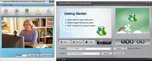 Camersoft MSN Video Recorder 3.1.08