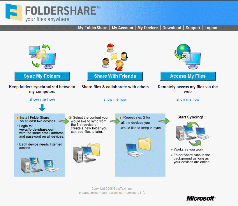 FolderShare 2.5.10
