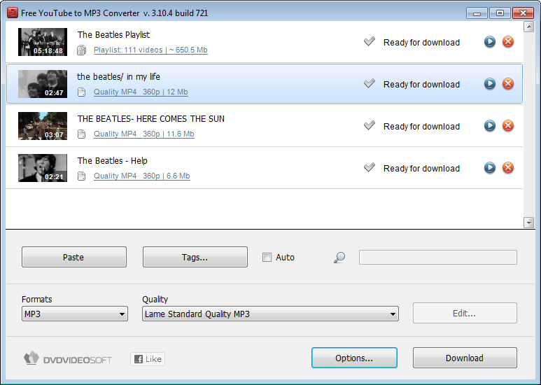Free youtube to mp3 converter version 3.3