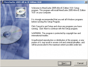 MereSurfer 2005 All in IE Edition